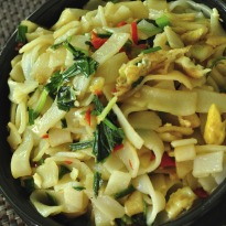 Recipe of Rice Noodles with Stir Fried Chicken
