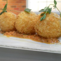 Risotto Balls with Pumpkin