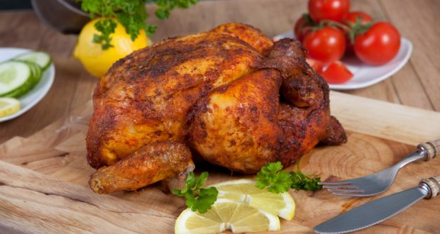 Desi Roast Chicken