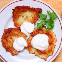 Recipe of Roesti and Salad