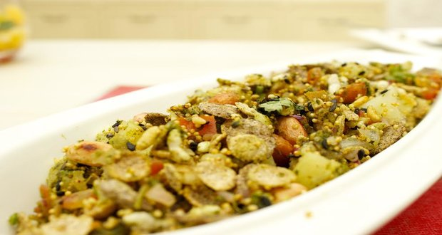 Mixed Millet Bhel Puri Recipe By Daisy Malik Ndtv Food