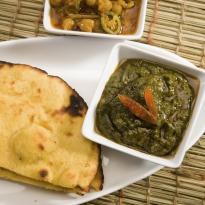Recipe of Sarson Ka Saag with Bajre Ki Roti