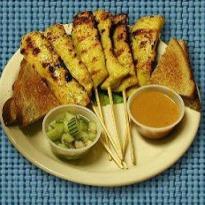 Satay Gai (Oriental Chicken Satay)