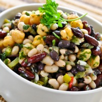Smoked Kidney Bean Salad  Recipe