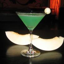 Smoked Melon Martini