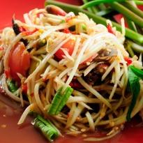 Recipe of Som Tam (Papaya Salad)