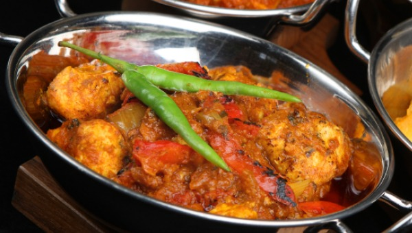 For all the spice lovers! Potatoes cooked with the tang of tomatoes ...