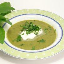 Spinach & Cauliflower Soup