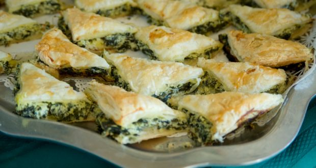 Recipe of Spinach Filo Pastry