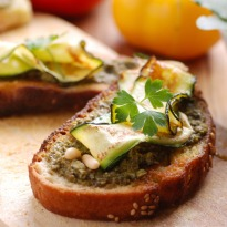 Spinach Crostini