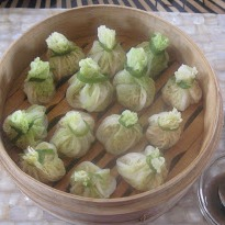 Steamed Chinese Cabbage Parcels Recipe By Divya Burman Ndtv Food