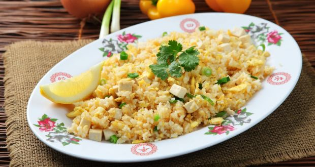 Stir Fried Tofu With Rice Recipe Ndtv Food