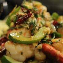 Stir Fried Prawns