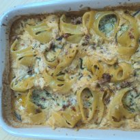 Recipe of Stuffed Lumaconi with Spinach and Ricotta