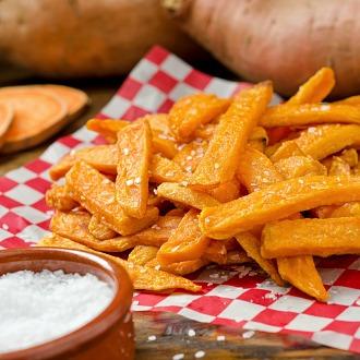 Recipe of Sweet Potato Fries with Amla Aioli