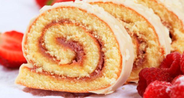 Swiss Rolls Cake Lemon
