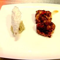 Recipe of Tellicherry Pepper Prawns Fry with Saboodana Papad
