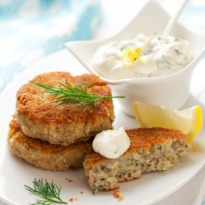 Thai Fish Cakes with Cucumber Relish