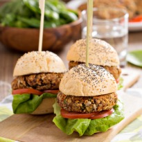 Recipe of Tofu Burger with Tahini