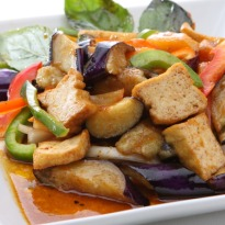 Stir Fried Capsicum and Tofu