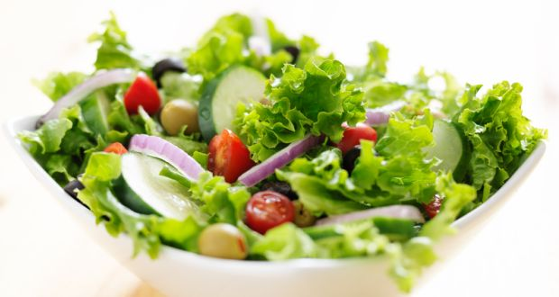 Tossed Mixed Salad Recipe Ndtv Food