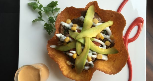 Recipe of Corn and Mushroom Tostada