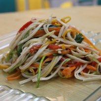 Udon Noodles Salad