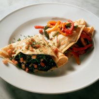 Vegetable Crepe