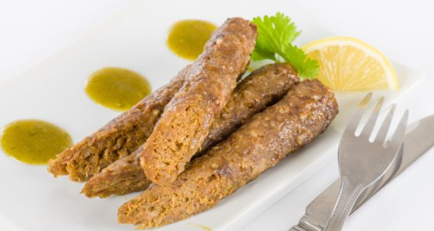 Vegetable Seekh Kebab
