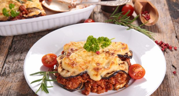 Vegetarian Moussaka Recipe By Seema Tiwari Ndtv Food