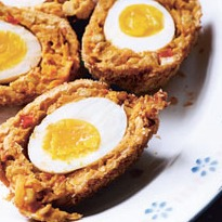 Felicity Cloake's veggie scotch eggs - recipe