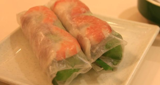 Vietnamese Rice Paper Wraps Recipe by Vicky Ratnani