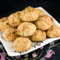 Microwave Walnut Cookies