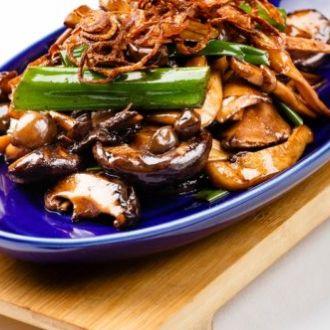 Recipe of Warm Mushroom Salad