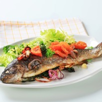 Whole Roasted Fish