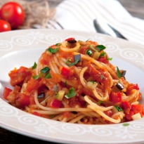 Whole Wheat Pasta Pomodoro