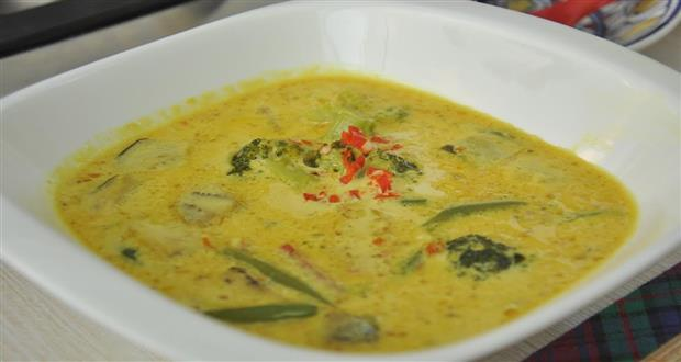 Hot Yellow Curry with Vegetables