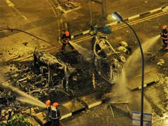Two Indians charged with rioting in Singapore