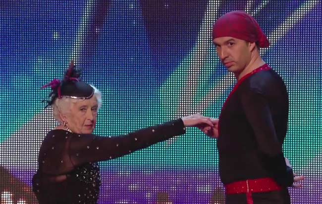 This 80-Year-Old Salsa Dancer Left the Judges Speechless