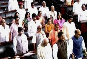 Parliament adjourned after paying tributes to Deshmukh