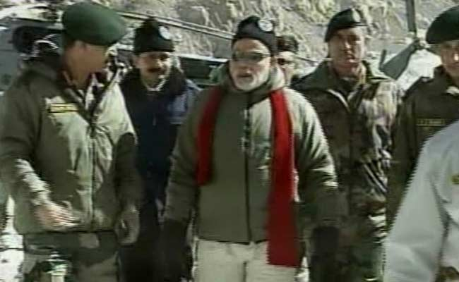PM Modi To Jawans in Siachen: 'Happy Diwali, You Make It Possible for Indians to Celebrate'