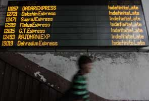 Power failure in northern India: 200 trains hit