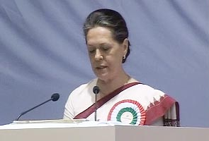 My job is a tough one: Sonia Gandhi