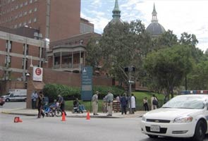 US: Doctor shot at Johns Hopkins hospital, gunman still holed up