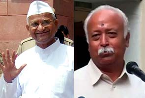 Is RSS working hard for affiliation with Anna?
