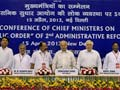Most chief ministers give Home Minister Shushil Kumar Shinde's conference a miss