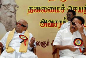 Blog: DMK warring factions unite as problems add up