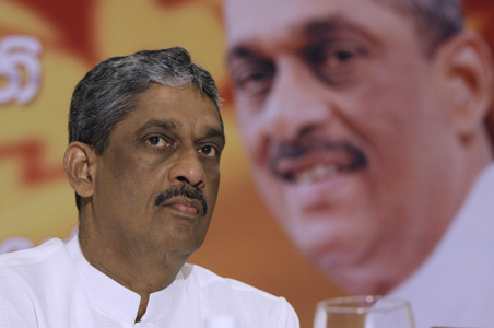 Ex-Sri Lanka Army chief Sarath Fonseka arrested
