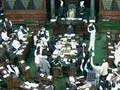 Lok Sabha adjourned for the day over Telangana, Sri Lanka