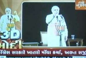 In Gujarat, NaMo TV markets the chief minister 24X7